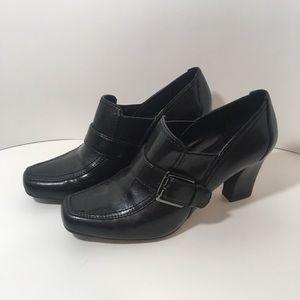 Franco Sarto Faux Leather (Ronda) Loafer Heels